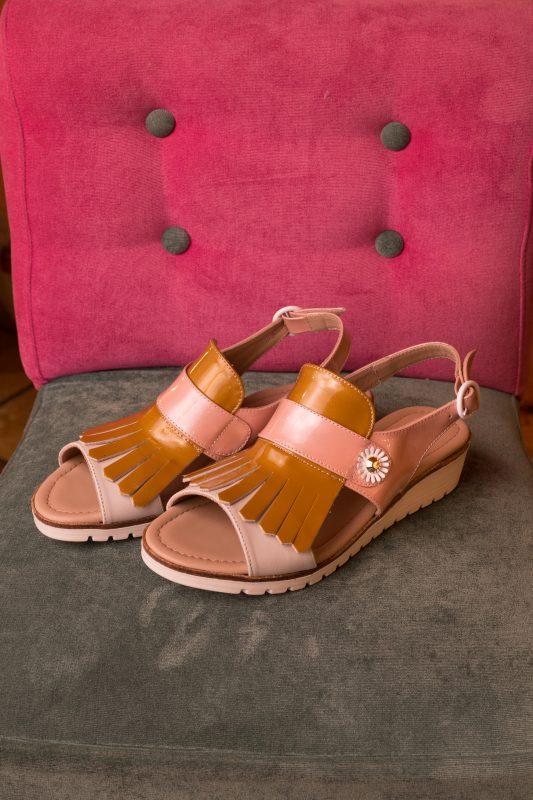 sandalia diferente comodidad verano tendencia zapatos